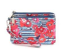 Kelly & Katie Poppy Wristlet