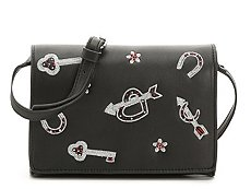 French Coinnection Hazel Charm Crossbody Bag