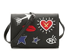 French Connection Hazel Heart Crossbody Bag