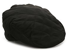 David & Young Quilted Newsboy Cap