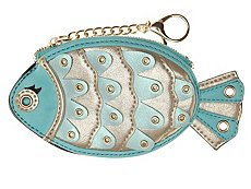 Violet Ray Fish Coin Purse