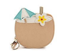 Violet Ray Coconut Drink Coin Purse