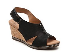 Clarks Helio Float Wedge Sandal