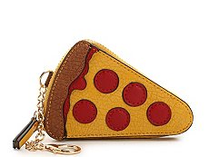 Violet Ray Pizza Slice Coin Purse