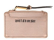 Violet Ray Spend It All In One Place Coin Purse