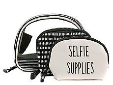 Violet Ray Selfie Supplies Cosmetic Bag
