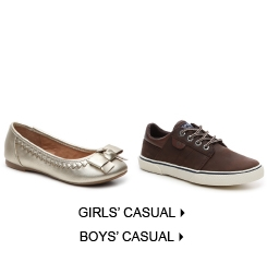 Kids' Casual & Flats