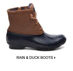 RAIN & DUCK BOOTS