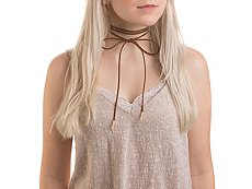 One Wink Wraparound Bow Choker