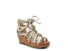 Steve Madden Jelisha Girls Youth Wedge Sandal