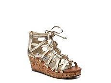 Steve Madden Jelisha Girls Youth Wedge Sandal