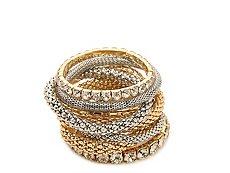 One Wink Mixed Multi Stretch Bracelet Set