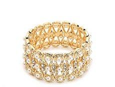 One Wink Pearl Stretch Bracelet