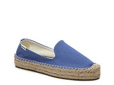 Soludos Canvas Platform Slip-On