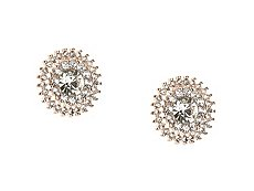 One Wink Round Stud Earrings