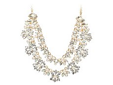 One Wink Crystal Statement Necklace