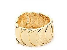 One Wink Layered Gold Stretch Bracelet