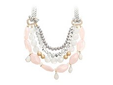 One Wink Opal Bib Necklace