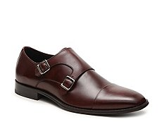 De La Rentis Double Monk Strap Slip-On