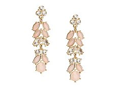 One Wink Linear Blush Drop Earrings