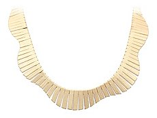 One Wink Gold Collar Necklace