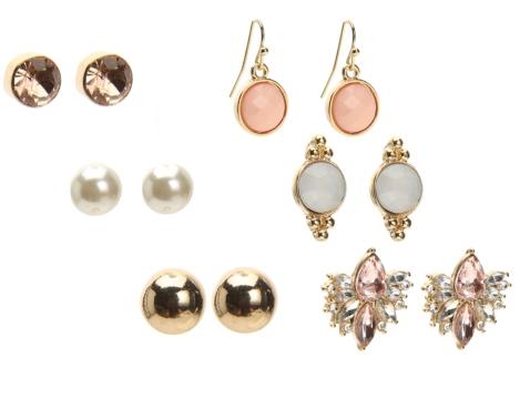 One Wink Assorted Set Of Earrings Dsw