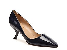 Final Sale - Roger Vivier Patent Leather Curved Pump