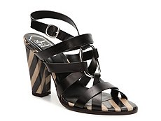 Final Sale - Roger Vivier Leather Sandal