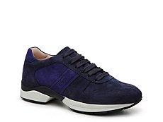 Final Sale - Tod's Suede Color Block Sneaker