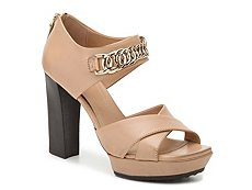 Final Sale - Tod's Leather Chain Sandal