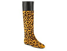 Final Sale - Roger Vivier Leopard Calf Hair Riding Boot