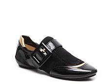 Final Sale - Roger Vivier Leather Buckle Slip On