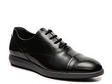 Final Sale - Hogan Patent Leather Cap Toe Oxford