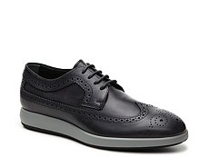 Final Sale - Hogan Leather Wingtip Oxford