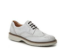 Final Sale - Hogan Distressed Leather Wingtip Oxford