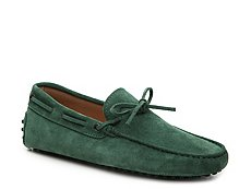 Final Sale - Tod's Laccetto Suede Loafer