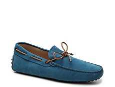 Final Sale - Tod's Lacetto Leather Loafer