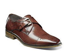 Stacy Adams Kimball Monk Strap Slip-On