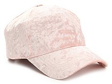 David & Young Crushed Velvet Baseball Cap