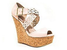 Qupid Finder-330 Wedge Sandal