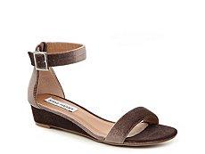 Steve Madden Margie Velvet Wedge Sandal