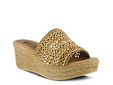 Spring Step Calci Wedge Sandal