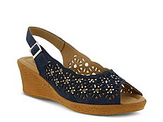 Spring Step Saibara Wedge Sandal