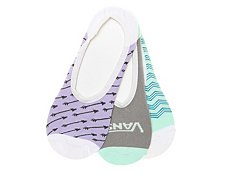 Vans Arrows Womens No Show Liners - 3 Pack