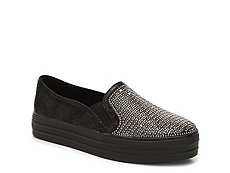 Skechers Embellished Slip-On Sneaker