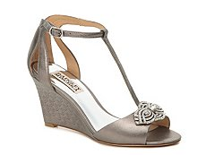 Badgley Mischka Nedra Wedge Sandal