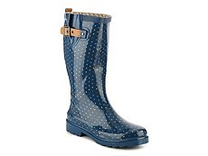 Chooka Chevron Dot Rain Boot