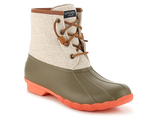 Sperry Top-Sider Saltwater Canvas Duck Boot