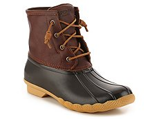 Sperry Top-Sider Saltwater Leather Duck Boot
