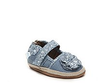 Robeez Jourdan Girls Infant Mary Jane Crib Shoe